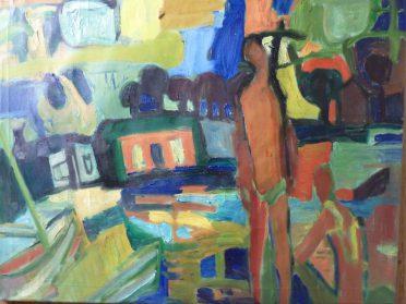 Outsider Art schilderij modern