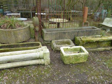 Tuinbakken in zandsteen en graniet