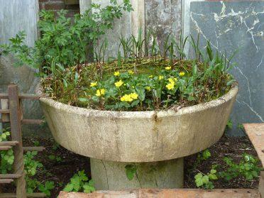Industriele tuin/afvoerbak
