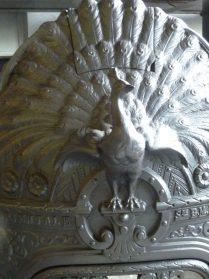 fragment gietijzeren kachel