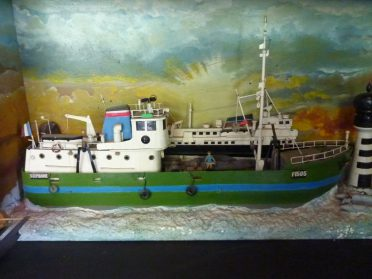 scheepsmodel Bretagne