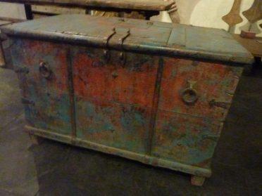 India-houten kist-h.59 /br.103 /d.64