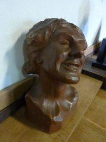 Terracotta-hoogte 30 cm.
