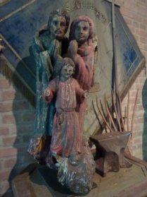 Heilige familie hout