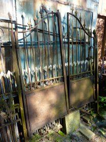 Franse poort van ijzer