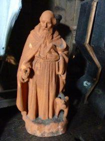terracotta beeld