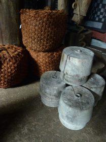 bolders voor zeilboot / mallen uit gipsfabriek