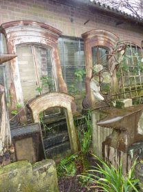 Franse gietijzeren ramen uit Auvergne