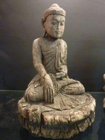 Birmese boeddha 26 cm. hoog