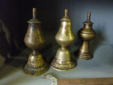 Nepalese olielampjes 16 cm.