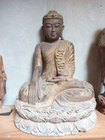 Boeddha Nyanmar van hout