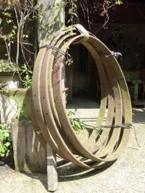 Franse ijzeren karrenwielbanden