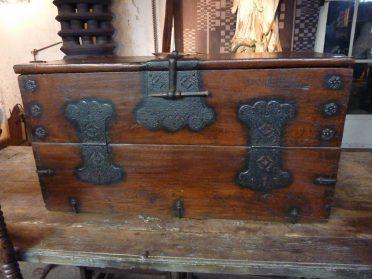 japanse houten kistje