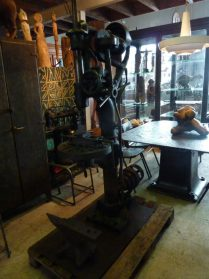industriele tafel + machine