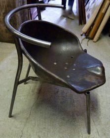 Design trekkerzitting stoel