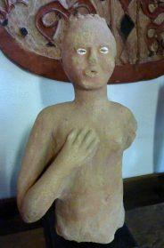 Ghana terracotta beeld
