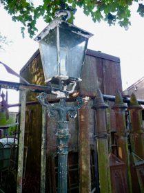 antieke lantaarnpaal