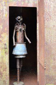 kunstmeisje uit Ghana