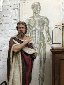 Heiligbeeld van gips