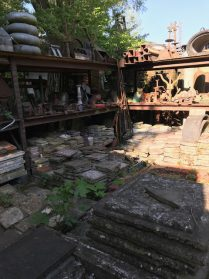 oude gedecoreerde vloertegels