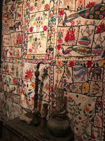 India patchwork kleed