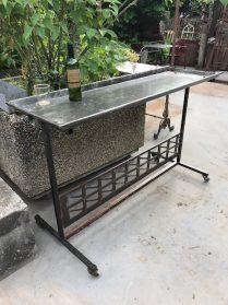 tuin-werktafel/ serveertafel