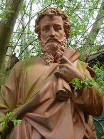 Tuinbeeld/heilige beeld terracotta