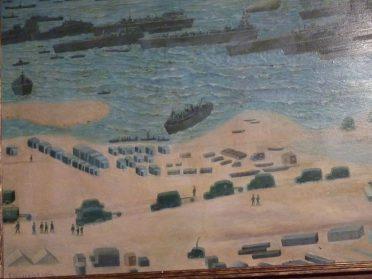 schilderij invasie