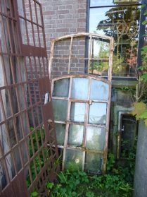 oude gietijzeren renovatie ramen