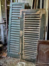 franse houten raamluiken