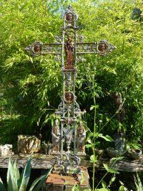 Frans gietijzer kruis