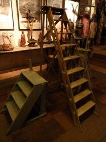 Franse houten trappen
