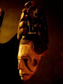 Igbo masker 60 cm. hoog