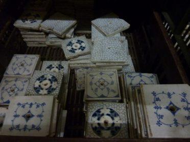 oude saksisch blauwe tegeltjes voor fornuis