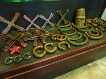 Katanga kruizen en Afrikaans brons