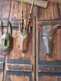 Bozo maskers-Mali