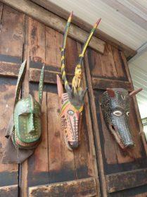 Bozo Bambara Mali maskers