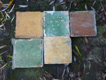 Makkummer vloertegels-17x17 cm. 23 stuks