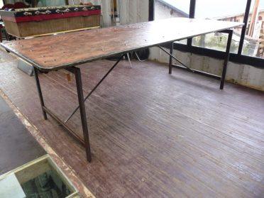 Internaat tafel 92 x 230 cm.