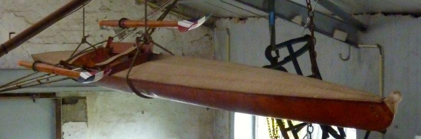 Skiff kano van Jan Wienese-Olympische goud 1968=Privé collectie