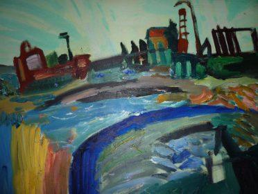 schilderij modern
