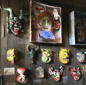 Mexicaanse carnaval maskers